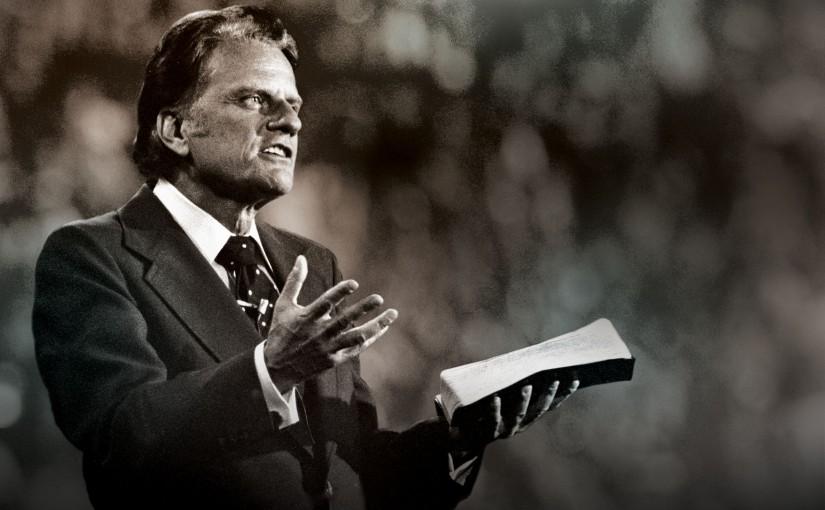 Проповедь Билли Грэма в Хельсинки