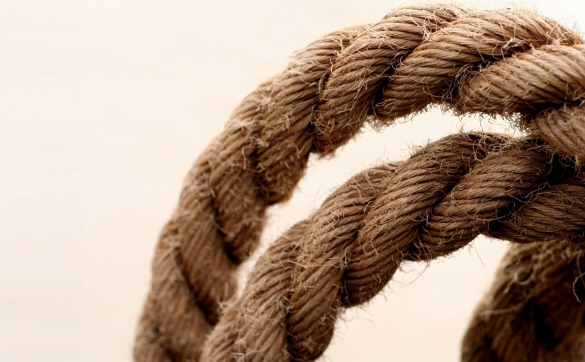 Кусок веревки