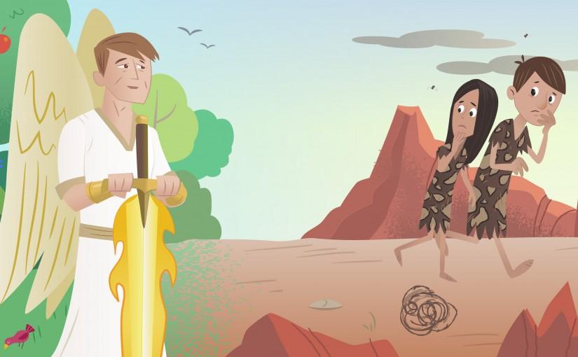 Адам и Ева • Рассказ для детей