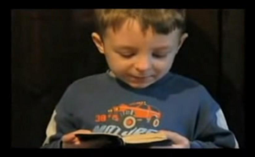 Проповедь маленького мальчика Виталика из Запорожья