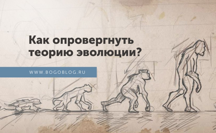 Опровержение теории эволюции