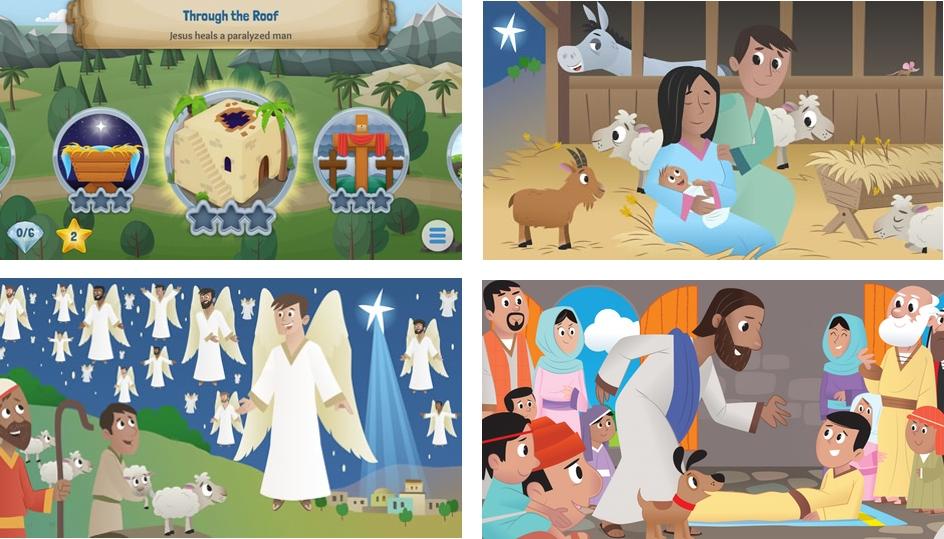 Библия для детей приложение Android и iPhone скачать бесплатно