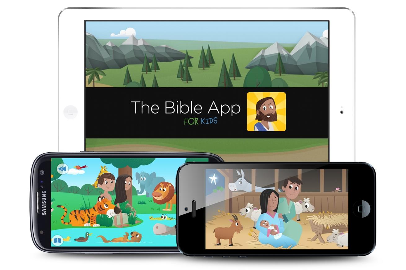 Библия для детей Мобильное приложение скачать бесплатно