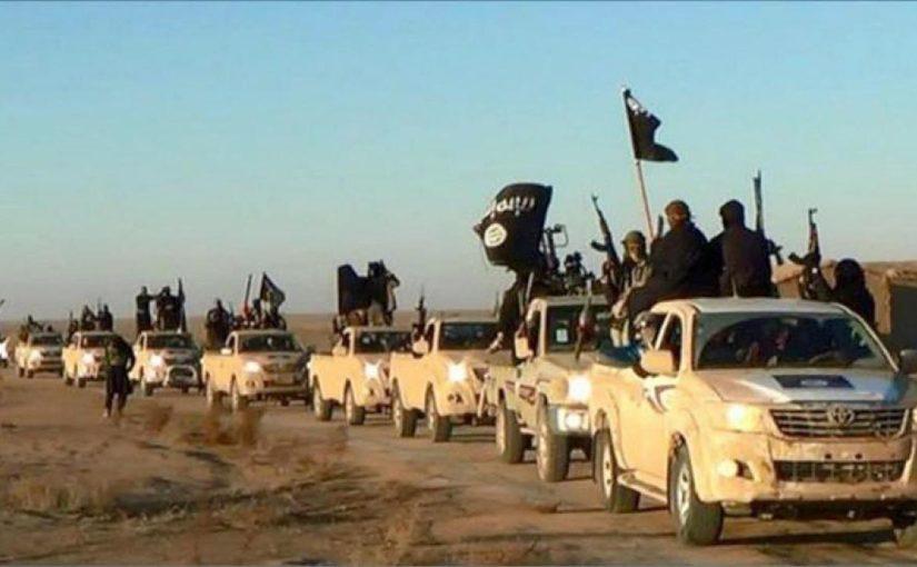 Иисус среди конвоя ИГИЛ