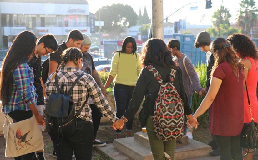 Почти миллион школьников участвовали в христианском флешмобе